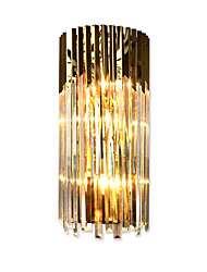 cheap -QIHengZhaoMing Crystal / Eye Protection Modern / Contemporary Wall Lamps & Sconces Living Room / Study Room / Office Metal Wall Light