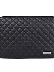 "cheap -13.3"" 14"" 15.6"" PU Leather Solid Colored Laptop Sleeves for Macbook/Surface/HP/Dell/Samsung/Sony Etc"
