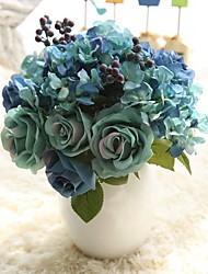 Недорогие -Искусственные Цветы 8.0 Филиал Деревня Свадебные цветы Розы Вечные цветы Букеты на стол