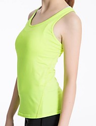 cheap -Women's Running Tank Top Spandex Yoga Fitness Gym Workout Tank Top Sleeveless Activewear Lightweight Fast Dry Breathability Stretchy Stretchy