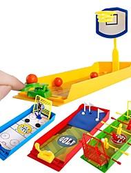 Недорогие -Баскетбольные игрушки мини Футбол Гольф Простой Стресс и тревога помощи Товары для офиса Пластиковый корпус Мальчики Девочки Игрушки Подарок 1 pcs