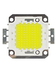 cheap -DIY 100W 8500-9500LM Warm White Cold White  Naturally White  Light Integrated LED Module (DC33-35V 3A) Street Lamp for Projecting Light  Gold Wire Welding of Copper Bracket