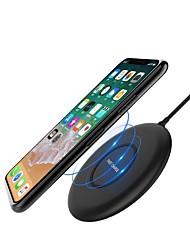 Недорогие -10w / 7.5w быстрый беспроводной телефон заряжателя для iphone xs iphone xr xs max iphone 8 samsung s9 плюс примечание 8 s8 или встроенный qi приемник смартфон