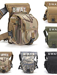 cheap -5 L Fanny Pack Hiking Waist Bag Military Tactical Backpack Multifunctional Wear Resistance Outdoor Hunting Hiking Camping Grey Camouflage Khaki