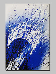 cheap -Mintura® Hand-Painted Modern Abstract Oil Painting on Canvas Wall Art Picture for Home Decor Ready To Hang