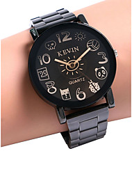 cheap -Women's Wrist Watch Quartz Black Chronograph Creative Casual Watch Analog Ladies - Black Coffee One Year Battery Life / SSUO LR626
