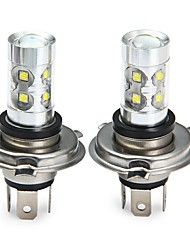 cheap -SENCART 2pcs H4 Motorcycle / Car Light Bulbs 50W SMD LED 3100lm 10 LED Fog Light For universal All years