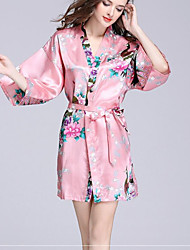cheap -Superior Quality Bath Robe, Floral / Animal 100% Polyester Bathroom 1 pcs