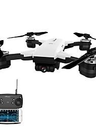Недорогие -RC Дрон JD-20 BNF 10.2 CM 6 Oси 2.4G С HD-камерой 2.0MP 720P Квадкоптер на пульте управления FPV / Возврат Oдной Kнопкой / Прямое