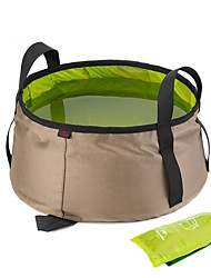 cheap -Naturehike Camping Collapsible Bucket 10 L Laundry Basket Quick Dry Folding for Outdoor Hiking Camping Blue Orange Green