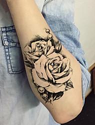 Недорогие -5 pcs Временные тату Временные татуировки Тату с цветами Искусство тела рука