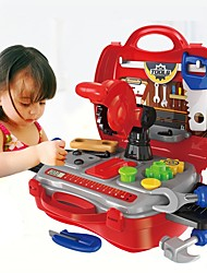 cheap -Toy Tool Tool Box Creative Parent-Child Interaction Child's Preschool Toy Gift 19 pcs