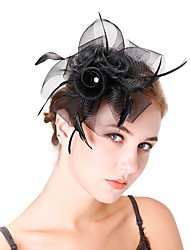 cheap -Women's Kentucky Derby Fashion Elegant Head Jewelry Hat Wedding Party - Solid Colored / All Seasons