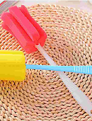 Недорогие -Кухня Чистящие средства губка / пластик Тряпка / щетка Простой / Защита / Инструменты 1шт