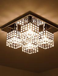 cheap -SL® Flush Mount Lights Ambient Light Electroplated Metal Crystal 110-120V / 220-240V / E26 / E27