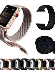 Недорогие -Ремешок для часов для Серия Apple Watch 5/4/3/2/1 Apple Современная застежка Нейлон Повязка на запястье