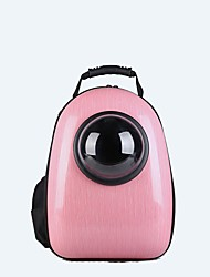 cheap -Dog Rabbits Cat Carrier Bag & Travel Backpack Waterproof Portable Mini Pet Oxford Cloth Solid Colored Classic Fashion Pink