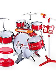 Недорогие -Барабанная установка Cool Милый Универсальные Мальчики Девочки Дети Игрушки Подарок 1 pcs