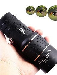cheap -16 X 52 mm Monocular Lenses Mini Portable Lightweight 66/8000 m Multi-coated BAK4 Camping / Hiking Hunting Fishing Sports Outdoor Plastic / Bird watching