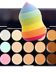 cheap -Concealer Concealer / Contour Matte Coverage Long Lasting Concealer Daily Casual / Daily Work Festival