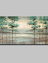 cheap -Mintura® Hand Painted Abstract Landscape Oil Paintings On Canvas Modern Wall Art Picture For Home Decoration Ready To Hang
