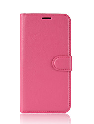 cheap -Case For Motorola Moto Z2 play / Moto X4 / MOTO G6 Wallet / Card Holder / Flip Full Body Cases Solid Colored Hard PU Leather / Moto G5 Plus