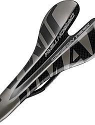 cheap -Bike Saddle / Bike Seat Comfort Carbon Fiber Cycling Road Bike Mountain Bike MTB Grey