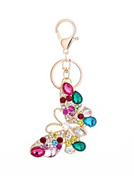 cheap -Keychain Butterfly Casual Fashion Ring Jewelry Gold For Gift Daily