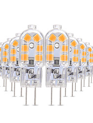 cheap -YWXLIGHT® 10pcs 3 W LED Bi-pin Lights 200-300 lm G4 T 12 LED Beads SMD 2835 Warm White Cold White Natural White 12 V