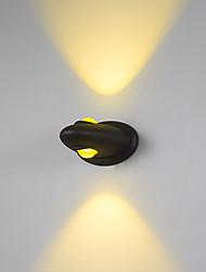 abordables -6w moderne conduit applique murale couloir intérieur vers le bas spot éclairage en métal léger