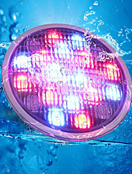 cheap -YouOKLight 1pc 18 W Underwater Lights Remote Controlled / Decorative RGB 24 V Swimming pool 18 LED Beads