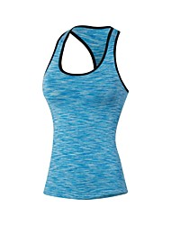 cheap -Women's Compression Tank Top Camo / Camouflage Spandex Yoga Fitness Gym Workout Compression Clothing Tank Top Sleeveless Activewear Lightweight Fast Dry Breathability Stretchy Stretchy