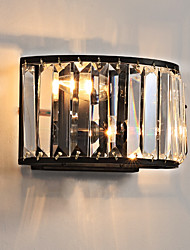 cheap -Crystal Mini Style Traditional / Classic Flush Mount wall Lights Living Room Indoor Metal Wall Light 110-120V 220-240V 45 W / E12 / E14