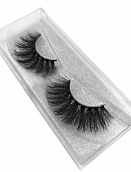 cheap -Eyelash Extensions False Eyelashes 2 pcs Eco-friendly Volumized Curly Extra Long Animal wool eyelash Daily Full Strip Lashes - Makeup Daily Makeup Professional Portable Cosmetic Grooming Supplies