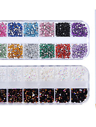 cheap -4 pcs Nail Art Drill Kit Crystal nail art Manicure Pedicure Wedding / Party Evening / Dailywear Metallic
