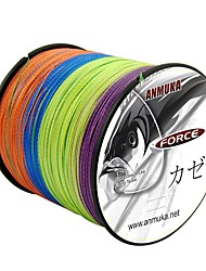 cheap -PE Braided Line / Dyneema / Superline Fishing Line 500M / 550 Yards PE 80LB 70LB 60LB 0.1-0.5 mm Jigging Sea Fishing Fly Fishing / Bait Casting / Ice Fishing / Jigging Fishing / Freshwater Fishing