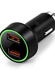 cheap -Car Car USB Charger Socket 2 USB Ports for 12 V