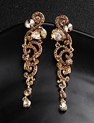 cheap -Women's Stud Earrings Flower European Fashion Earrings Jewelry Gold / Silver For Wedding Daily 1 Pair