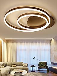 cheap -1-Light 56 cm Creative / Dimmable Flush Mount Lights Aluminum Acrylic Linear Anodized Chic & Modern / Modern 110-120V / 220-240V / FCC