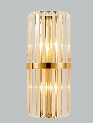 cheap -Cool Modern Contemporary Wall Lamps & Sconces Living Room Bedroom Crystal Wall Light 220-240V 40 W E14