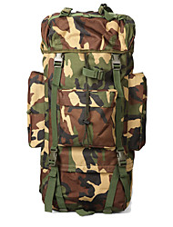 cheap -65 L Hiking Backpack Military Tactical Backpack Quick Dry Wear Resistance High Capacity Outdoor Hiking Camping Nylon Camouflage