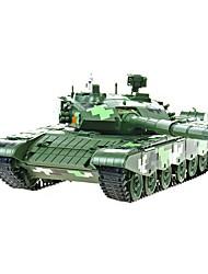 Недорогие -1:38 Игрушечные машинки Армия Танк Колесница Военная техника Танк Вид на город Cool утонченный Металл Мини-автомобиль Транспортные средства Игрушки для вечеринки или подарок на день рождения для детей