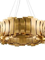 Недорогие -QIHengZhaoMing 10-Light 60 cm Люстры и лампы Металл Электропокрытие Modern 110-120Вольт / 220-240Вольт
