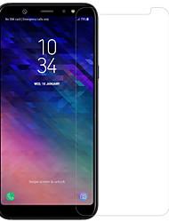 Недорогие -Samsung GalaxyScreen ProtectorA6+ (2018) HD Протектор объектива спереди и камеры 1 ед. Закаленное стекло