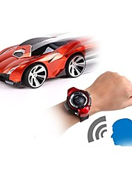 cheap -RC Car Watch Control Car 2.4G Car 1:24 Brush Electric KM/H