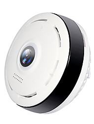 cheap -Hiseeu P6 1.3 mp IP Camera Indoor Support 64 GB / CMOS / Android / iPhone OS