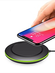 Недорогие -7.5w / 10w / 5w быстрое зарядное устройство для iphone xs iphone xr xsmax iphone 8 samsung s9 plus s8 примечание 9 или встроенный qi приемник смартфон
