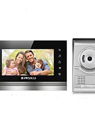 cheap -XINSILU XSL-V70K-L+ sliver 7 inch Hands-free 800*480 Pixel One to One video doorphone