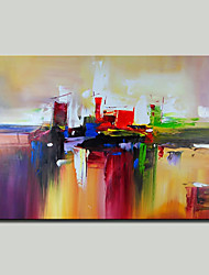 cheap -Mintura® Hand Painted Abstract Oil Painting on Canvas Modern Wall Art Picture for Home Decor Ready To Hang