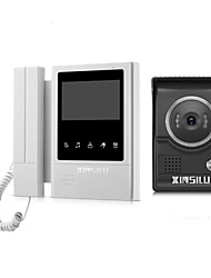 cheap -XINSILU XSL-V43E168 Wired 4.3 inch Hands-free / Telephone 480*272 Pixel One to One video doorphone